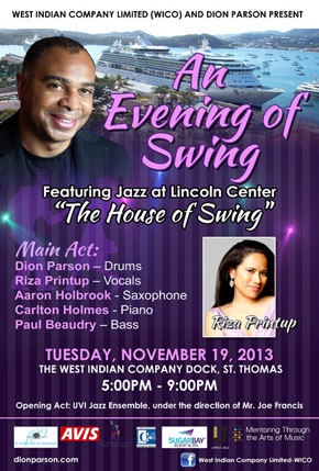 An Evening of Swing November 2013 event